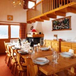 Chalet Rosalie Dining Room