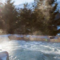 Chalet Serpolet Hot Tub