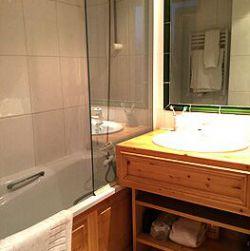 Bathroom in apartment Grand Duc Meribel