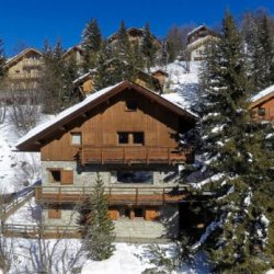 Chalet L'ardour Meribel in the Snow
