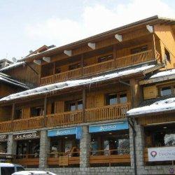 The exterior of Residence Arolaz in Meribel