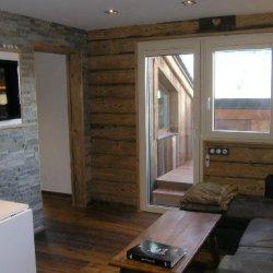 Living room in apartment Arolaz 5 Meribel