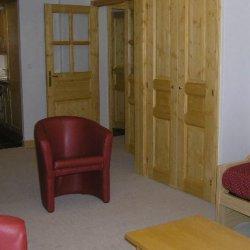The living area in apartment Aubepine Meribel