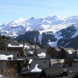The view from apartment Aubepine in Meribel
