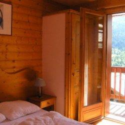 Bedroom in Chalet Morel in Meribel