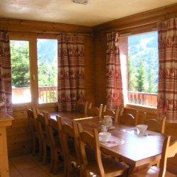 Dining area in Chalet Morel in Meribel