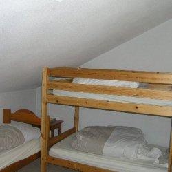 The bunk bedroom in apartment Cristal Meribel