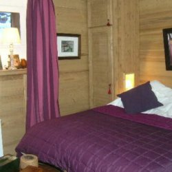 A double bedroom in apartment Le Coeur de Meribel