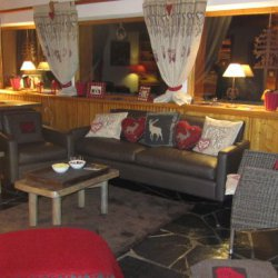 Comfy living area in in Chalet La Fugue Meribel