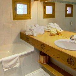 Bathroom in hotel Marie Blanche