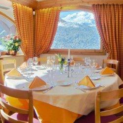 Restaurant at hotel Marie Blanche Meribel