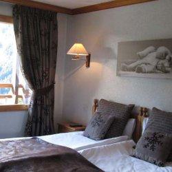 Hotel Marie Blanche Twin Bedroom