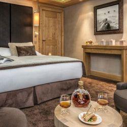 Hotel Kaila Meribel Double Bedroom