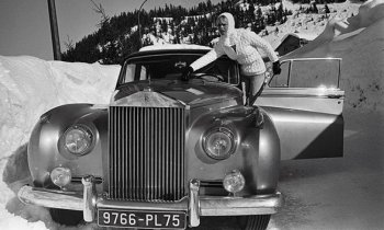 Bridget Bardot and Rolls Royce