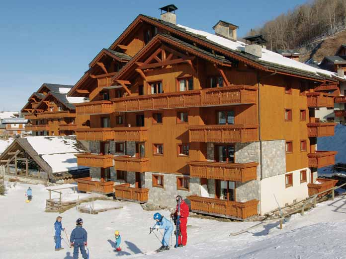 Apartments Les Fermes de Meribel Village, Self-catering ...