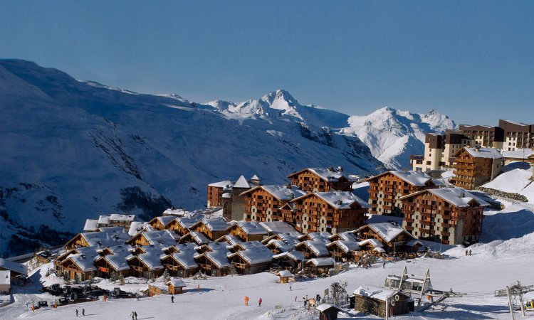 Hotels and Apartments close to the piste