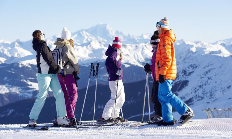 Group Ski Holidays Meribel