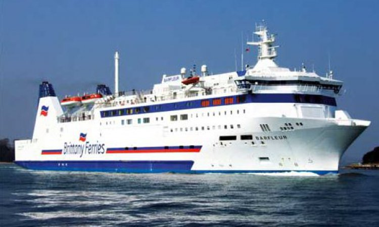 Brittany Ferry to France