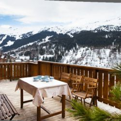 Chalet Bouchot Meribel View