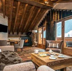 Hotel Kaila Meribel Living Area