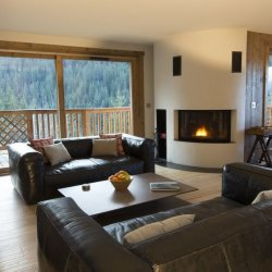 Chalet Bouquetin Living Room.