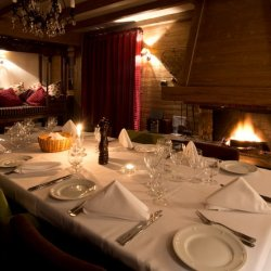 Chalet La Vieille Forge Dining Room