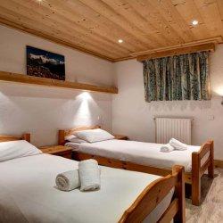 Chalet Andre Twin Bedroom