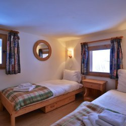 twin Bedroom Chalet Gaillard