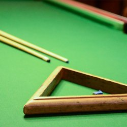 Les Arolles Billiards room