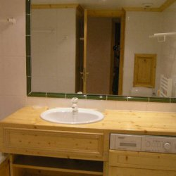 The bathroom in Apartment Grand Duc Meribel