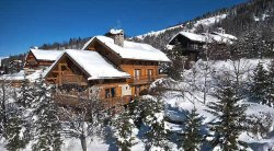 Luxury chalet in Meribel