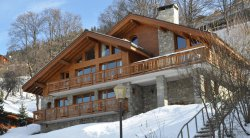 Chalet Chardon in Meribel with balcony