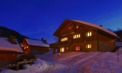 The exterior of Chalet Charmille Meribel